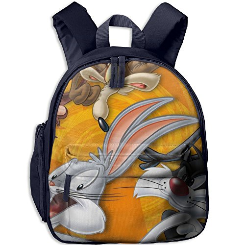 Bugs Bunny Fashion And Colorful Kids Kindergarten Backpack, Comfortable Shoulder (Bugs Bunny And Lola Costumes)