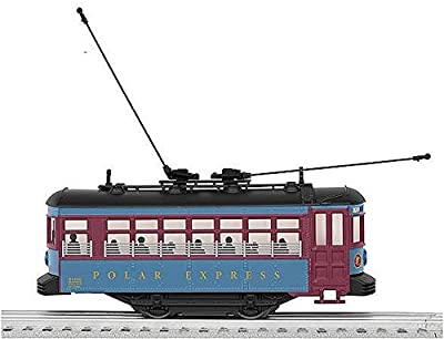 O-27 The Polar Express Trolley by Lionel Traditional O Gauge