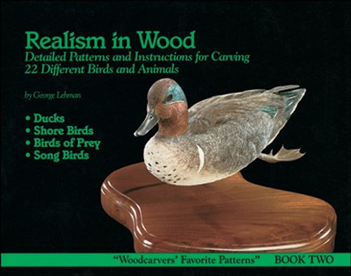 Realism in Wood #2 Birds & Animals