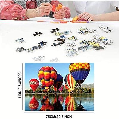 Hasde 1000pcs Jigsaw Puzzles for Adults 1000 Pieces Adult Puzzles Difficult Noctilucent Growups Puzzle Landscape Style Educational Toys Landscape Painting Decorative Paintings (G) (D): Toys & Games