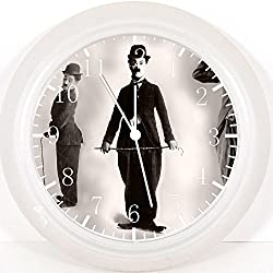Funny Charlie Chaplin Wall Clock 10 Will Be Nice Gift and Room Wall Decor E106