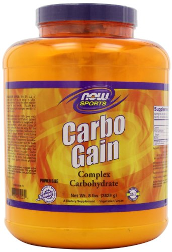 NOW Foods Carbo Gain, 8 Pounds 733739020239