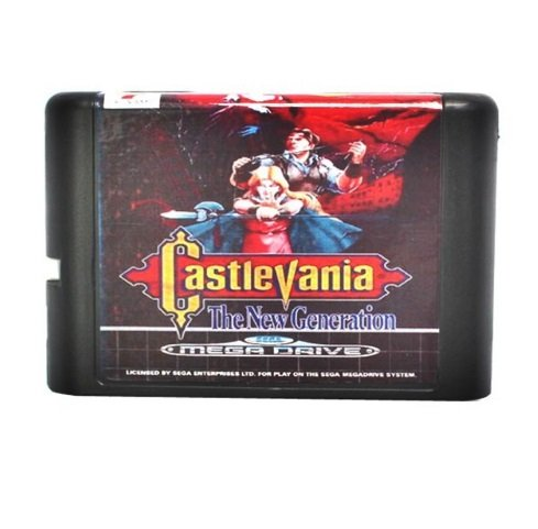 Taka Co 16 Bit Sega MD Game Castlevania the new generation 16 bit MD Game Card For Sega Mega Drive For Genesis