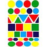 Color Coding Labels -Value pack Assorted sizes 5 Colors Stickers-420 pack