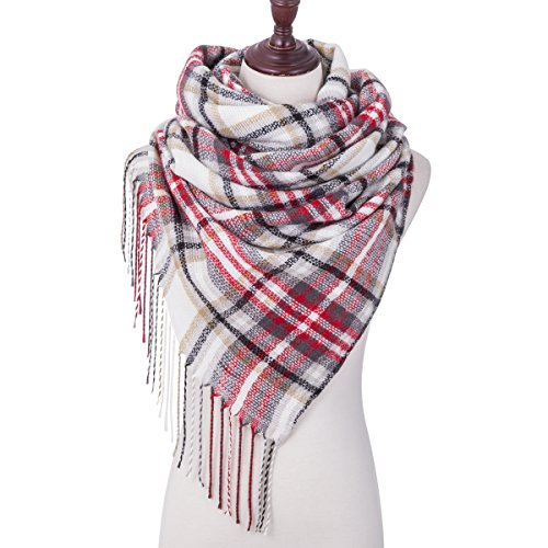 Great Winter Plaid Scarf