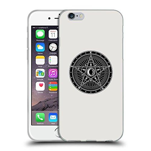 """GoGoMobile Coque de Protection TPU Silicone Case pour // Q08300631 Mystique occulte 9 Platine // Apple iPhone 6 4.7"""""""