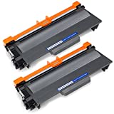 Office World Compatible Toner Cartridge Replacement for Brother TN750 (Black, 2-Packs),Compatible with Brother HL-5470DW HL-5450DN HL-6180DW MFC-8710DW MFC-8910DW MFC-8950DW