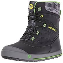Merrell Boys Snow Bank 2.0 WTRPF Waterproof Snow Boot (Toddler/Little Kid/Big Kid)