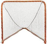 STX Lacrosse Folding Backyard Lacrosse Goal, Orange, 4 x 4-Feet (AS FBYG 04/04)