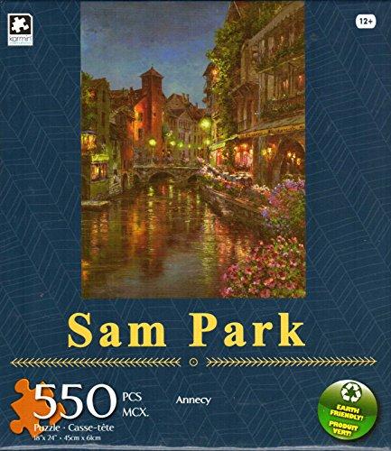 Annecy By Sam Garden 550 Piece Puzzle