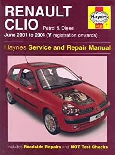 renault clio repair manual haynes manual service manual workshop rh amazon co uk renault thalia service manual renault clio service manual 2002
