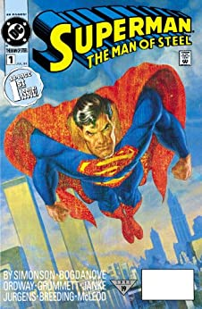 Superman: The Man of Steel (1991-) #1 (Superman: The Man of Steel (1991-2003)) by [Simonson, Louise]