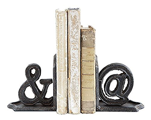 Creative Co-op Vintage Style And &At Cast Iron Bookends – Set of 2 Review