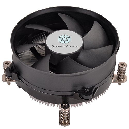 SilverStone Technology NT08-115X Low Profile 48mm 95W TDP LGA 115X CPU Cooler