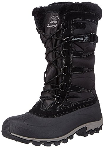 Kamik Women's Snowvalley Boot (8.5 B(M) US, Black BK2)