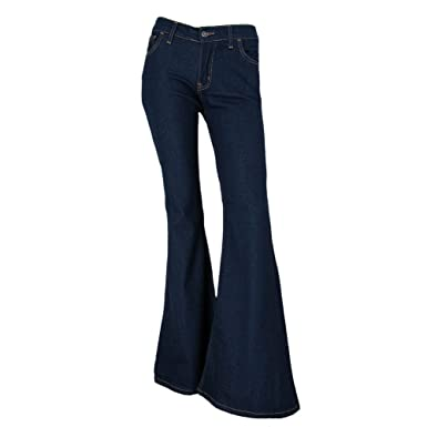 Fans London Bell Bottom Indigo Jeans Size US 10 at Amazon Women's ...