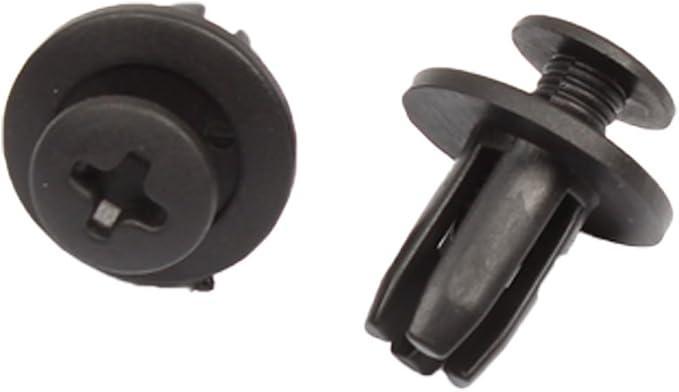 sourcingmap 20Pcs Car Expanding Screw Rivets Trunk Fender Retainer Clip 8mm