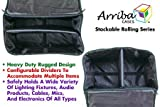 Arriba Padded Multi Purpose Case Atp-16 Top Stackable Case Dims 16X10X14 Inches