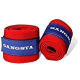 Slingshot Gangsta Wraps by Mark Bell. Protect your wrists with these elastic wraps designed to increase your performance. CrossFit, Strongman, Powerlifting, Weightlifting, and more.