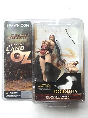 Mcfarlane Toys Twisted Land Of Oz Action Figure Dorothy No