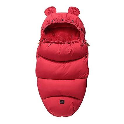 Triplsun Saco de dormir para bebé, doble uso, otoño e invierno, grueso para