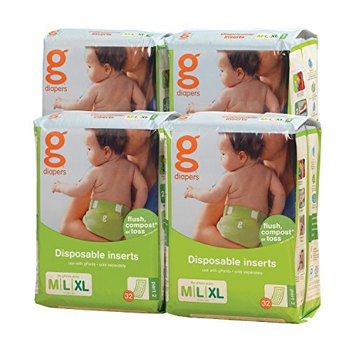 gDiapers Disposable Inserts, Medium/Large/X-Large
