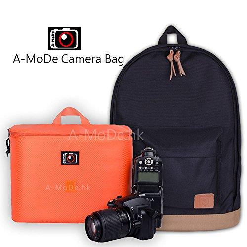 Light Weight Camera Bag Backpack Larcapacity Paddded Insert