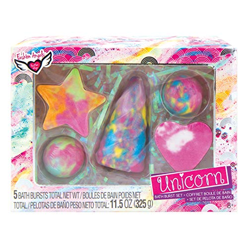 Fashion Angels Unicorn Bath Burst Gift Set (Girls Bath Sets For)