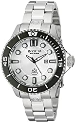Invicta Women's 19812 Pro Diver Analog Display Swiss Quartz Silver Watch