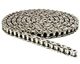 415H Nickel Plated Motorized Chain 98 Links for 49cc 60cc 66cc 80cc Motor Bike with 1 Connecting Link