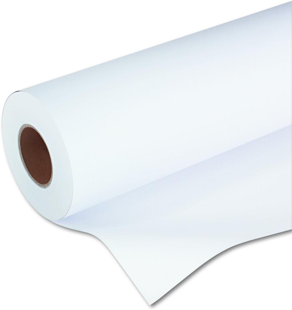 "HP C6567B Designjet Inkjet Large Format Paper, 4.9 mil, 42"" x 150 ft, White"