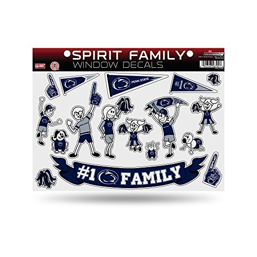 NCAA Penn State Nittany Lions Spirit Family Window Decals