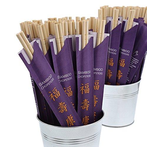 CiboWares 9'' Disposable Bamboo Chopsticks, Case of 1,000 by CiboWares (Image #4)