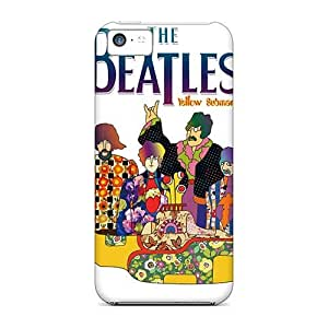 Apple Iphone 5c WFx3655tYvl Allow Personal Design Stylish The Beatles Skin Scratch Protection Hard Phone covers cases for Happy Christmas and New Year s cases for Happy Christmas and New Year -casesbest88