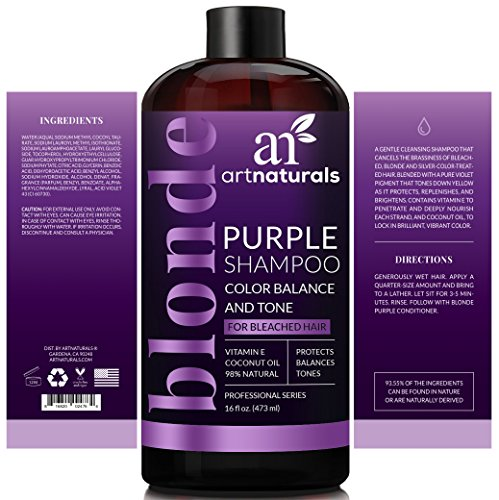 Buy purple shampoo for silver hair
