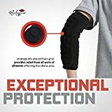 Elbow Protection Pads 1 Pair (Large), Elbow Guard