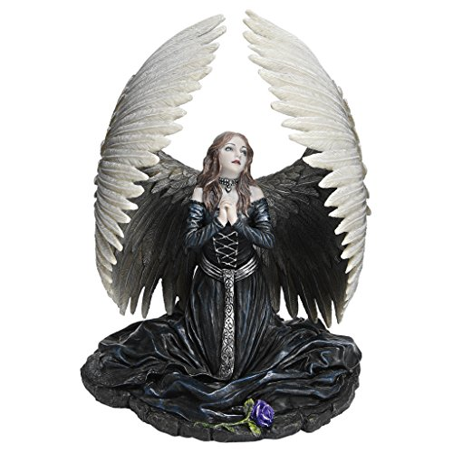 - Design Toscano Prayer for the Fallen Angel Statue by artist Anne Stokes