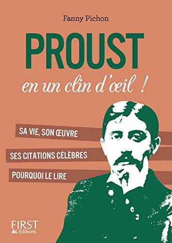 Petit Livre De Proust En Un Clin D Oeil Le Petit Livre