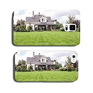 a private house with a garden in a rural area cell phone cover case iPhone5