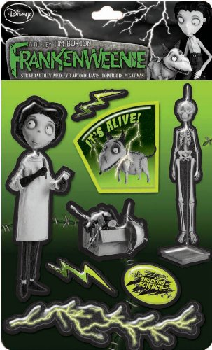 EK Success Brands Disney Frankenweenie It's Alive Sticker Medley
