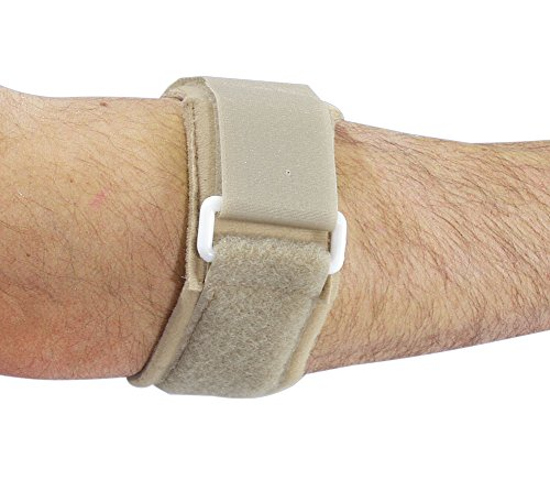 Freedom Comfort Tennis Elbow Strap, Beige by AliMed