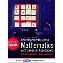 Contemporary Business Mathematics with Canadian Applications, Eighth Edition Update (8th Edition)