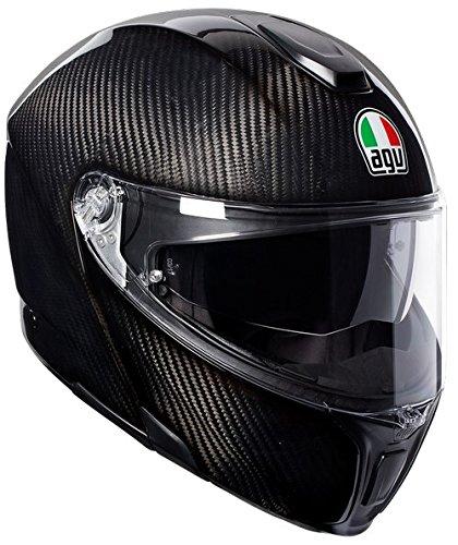 AGV モジュラー ヘルメットSPORTMODULAR SOLID ECE2205 PLK,カラー:グロッシー カーボン, サイズ:L B079LFKNHY L グロッシー カーボン グロッシー カーボン L