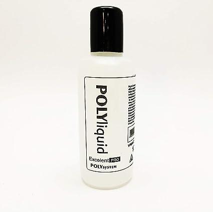 PolyGel Liquid 100ml - PolySystem - Líquido para trabajar el Polygel - Líquido par Poly -