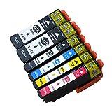 Ouguan Ink 6-Pack Compatible T3357 Ink Cartridges for Epson Expression Premium XP-530 XP-630 XP-635 XP-830 Printers Compatible Epson T3351 T33XL - T3351 T3361 T3362 T3363 T3364 Compatible Inkjets