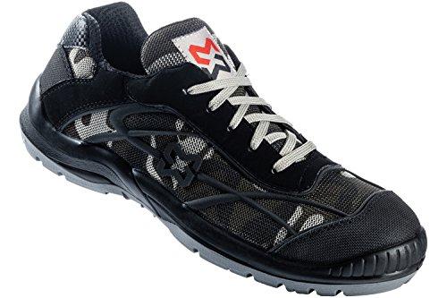 Chaussures de sécurité S1P Net basses Würth MODYF Grises