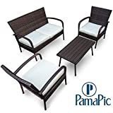 Best Outdoor Furniture - Pamapic Outdoor 4Piece Patio Furniture Sets 【PS Board Review