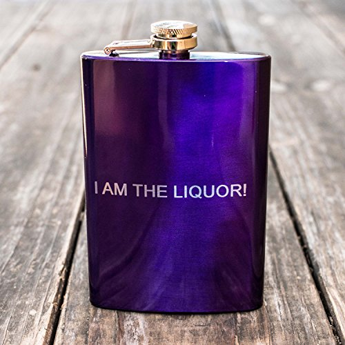8oz-PURPLE-I-am-the-Liquor-Flask-L1