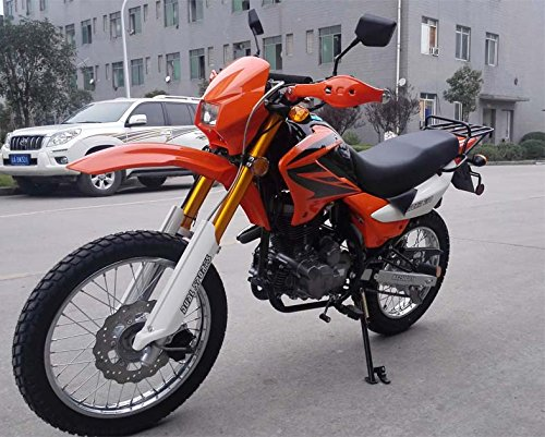 Roketa Dirt Bike-08-250(LHJ) (Orange)