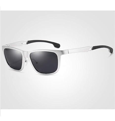 L.L.QYL Lunettes Gafas de Sol para Hombre con Montura ...